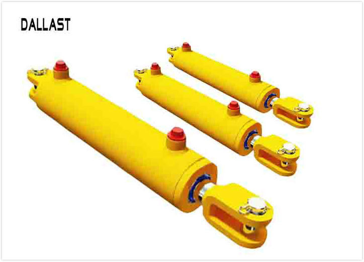 Custom Hydraulic Cylinder Types of Piston Double Ating Agricultural Chrome